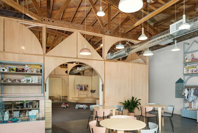 Estudio de arquitectura Zooco, coworking para padres e hijos