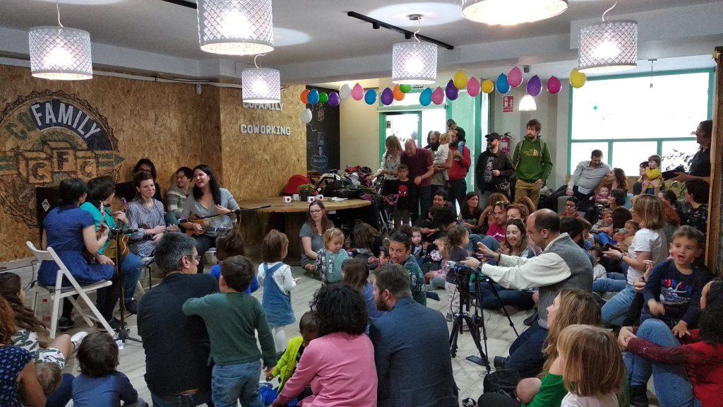 Eventos en un coworking para niños