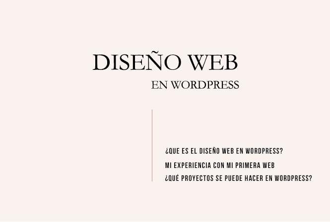 Cómo tener una web en wordpress